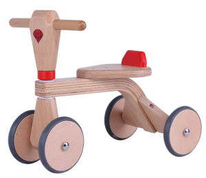 Wooden Baby Tricycle, New Kid Wooden Tricycle, Baby Walker