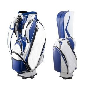 Blue Golf Saff Bag Waterproof Cart Men