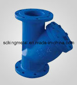 DIN Standard Pn10 Y Type Cast Iron Strainer pictures & photos