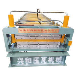 Steel Roof and Wall Panel Double Layer Cold Roll Forming Machine