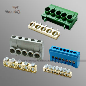 DIN Rail Mounting Terminal Block Connector (MLIE-TB025) pictures & photos