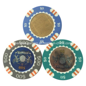 Casino Copper Chips, Professional Poker Chips of Anti-Counterfeiting Technology Production