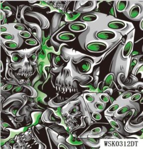 picture about Printable Hydrographic Film named Wholesale H2o Move Printing Motion picture/ Hydrographic Motion picture/ PVA Motion picture Skull Routine Product No.: Wsk0312dt