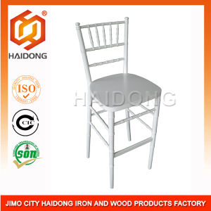 High Quality of White Wood Barstool Chiavari Chair pictures & photos