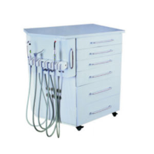 Good Price China Factory High Quality Mobile Dental Cabinet Unit