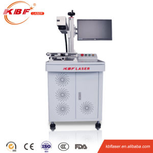 Table Type Inbuilt Air Cooling 20W Metal Fiber Laser Engraving Machine pictures & photos