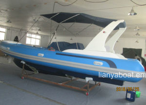 Liya 24ft Ribs Boats Hypalon Inflatable Boat with Engine for Sale pictures & photos