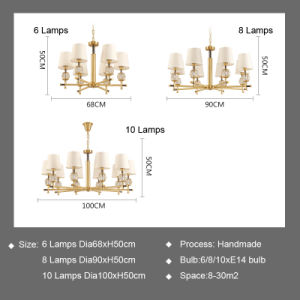 Hotel Decoration Lighting Crystal Chandelier pictures & photos