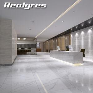 Foshan Super Glossy Kitchen Full Polished Glazed Porcelain Marble Flooring Tile in Dubai Price