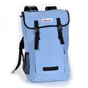 China Casual Denim College Travel Backpack Laptop School Bag - China ... d7bef14110766