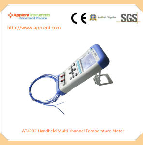 High Quality Multi-Channel Temperature Thermometer for Incubator (AT4202) pictures & photos