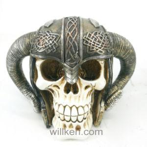 China Resin Ornament Handicrafts High Quality Skull Decoration