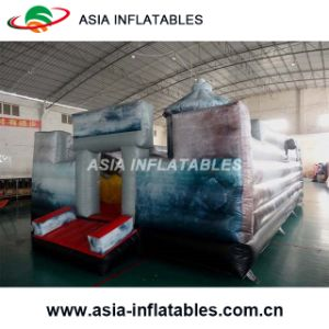 Inflatable The Moon Bouncer Catle pictures & photos