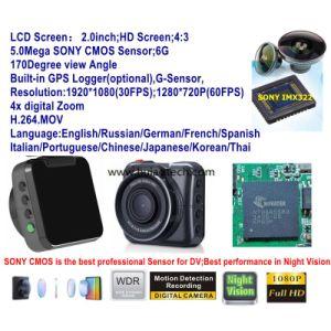 "720P GPS G-sensor Car Video Camera DVR Recorder Blackbox Night 2"" Motion Detect"