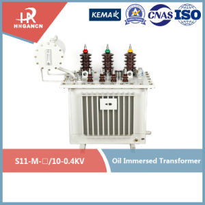 High Quality with Best Price Hermetically Sealed Oil-Immersed Isolation High Voltage Power Transformer of Class 20-10kv with Conservator 80kVA