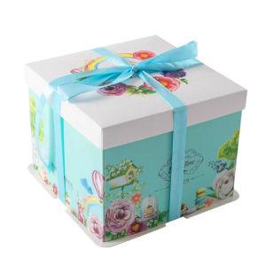 Remarkable China Custom Logo Eco Friendly Square Black Birthday Cake Box Funny Birthday Cards Online Inifofree Goldxyz