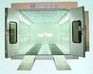 Auto Paint Booth with Rock Wool Panel pictures & photos