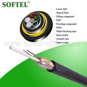 All Dieletric Self-Supporting Fiber Optical Otdoor Cable/ All Dielectric Cable ADSS pictures & photos