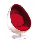(SX-103) Home Furniture Leisure PU Leather Egg Chair