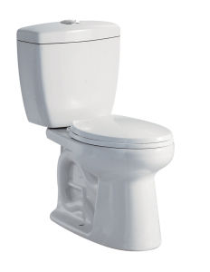 Hot Sale Sanitary Ware Wc Flushtoilet Jet Siphonic Two Pieces Toilet (WDS48)