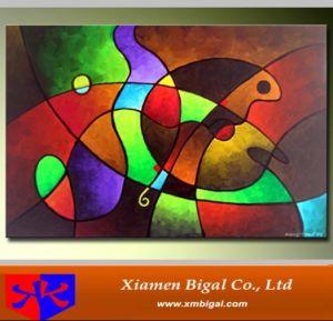 China Bright Color Abstract Oil Painting Bgab0488 China