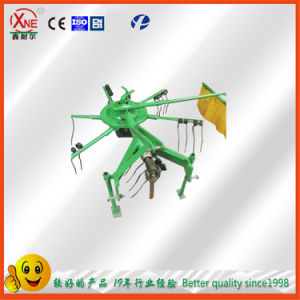 Ce Approved Tractor Mounted Rotary Hay Rake Tedder 9ld-2 5