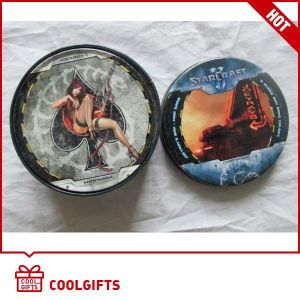 Cheap Promotional Gift Tin Cup Coaster for Christmas Gift pictures & photos