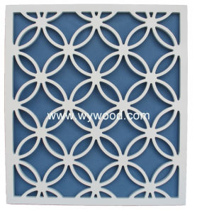 Wooden Carved Grille Interior Decorative Panel (WY-08WSSPCS15) pictures & photos