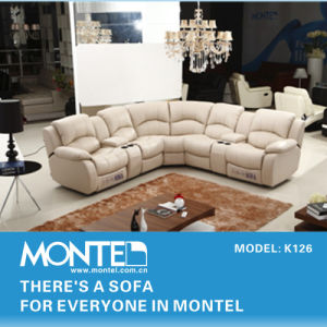 Modern Recliner Sofa Set, Genuine Leather Recliner Sofa Design