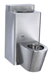 Stainless Steel Combination Toilet/ Penal-Ware Lavatory Toilet (SC1120)