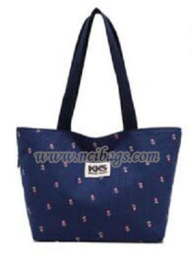 Promotional Ladies Cotton Canvas Shopping Leisure Tote Bag