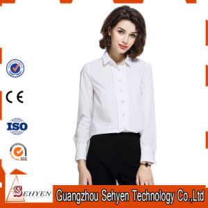 Ladies Fashion Latest Formal Long Sleeve Shirt Designs for Women pictures & photos