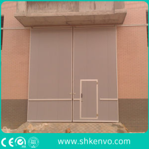 Motorized Single Leaf Sliding Door pictures & photos