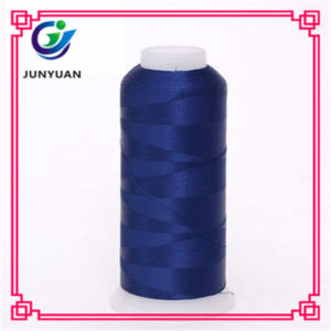 100% Polyester Filament Polyester Embroidery Thread pictures & photos