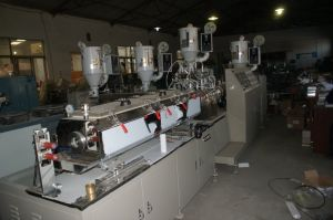 Plastic Tube Extruder and Cutting Machine pictures & photos