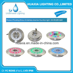 RGB3in1 IP68 316ss LED Underwater Fountain Light pictures & photos