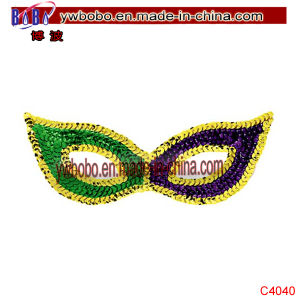 Party Decoration Halloween Masks Sequin Mardi Gras Party Items (C4040) pictures & photos