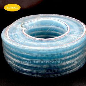 "BRAND NEW PVC Reinforced Vinyl Tube Braided Clear 3//8/"" x 30m Free Postage"