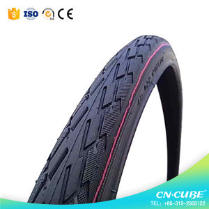 16*2.125cm Natural Rubber Bicycle Tire pictures & photos
