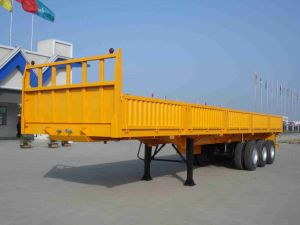 Sinotruk Huawin 3-Axle Wall Side Cargo Truck Semi Trailer pictures & photos
