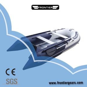 Aluminium Floor High Quality PVC Material Inflatable Boat for Fishing and Sports