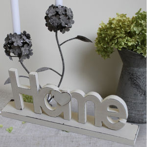 china antique home decorative wooden standing word wood letters