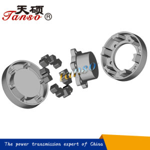 Chinese Supplier H Type Flange Jaw Coupling pictures & photos