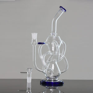 Vortex Functional Recycler Oil Rig Heady Water Pipes Smoking Hookah