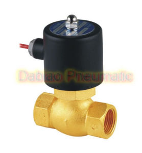 1′′ N/C High Temperature PTFE Guide Steam Valve Brass Us-25 2L200-25