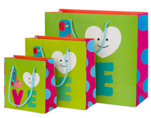 Custom Printing Kraft Retail Paper Bag pictures & photos