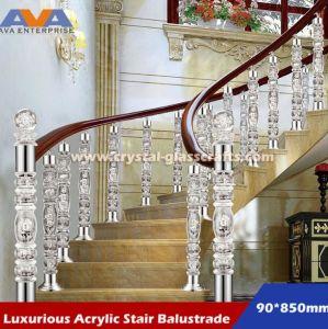 Charmant Plexiglass Acrylic PMMA Staircase Pillar/Balustrade/Railings