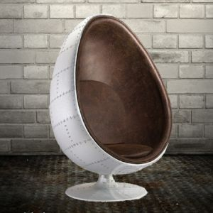 Industrial Style Aluminum Spitfire Egg Chair pictures & photos