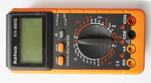 High Quality Digital Multimeter (KH-890G) with Ce and UL pictures & photos