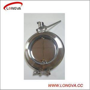 Sanitary Stainless Steel Welding Butterfly Valve pictures & photos